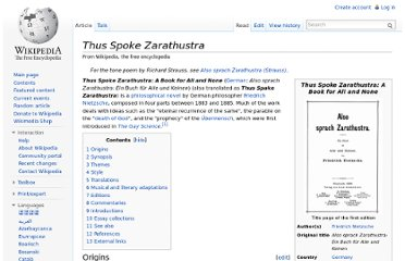 http://en.wikipedia.org/wiki/Thus_Spoke_Zarathustra