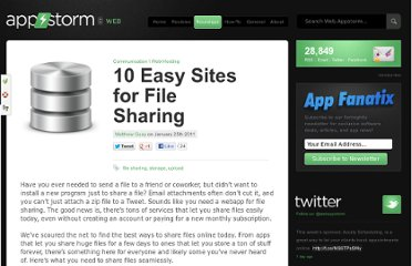 http://web.appstorm.net/roundups/communication-roundups/10-easy-sites-for-file-sharing/