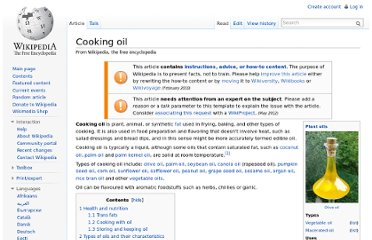 http://en.wikipedia.org/wiki/Cooking_oil