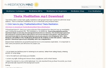 http://themeditationmind.com/meditation-course/theta-meditation-download/