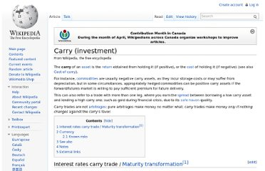 http://en.wikipedia.org/wiki/Carry_(investment)#Currency