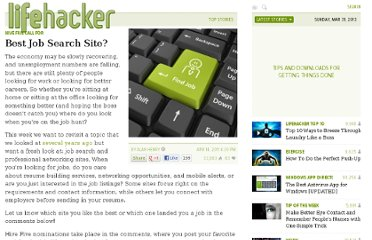 http://lifehacker.com/5792112/best-job-search-site