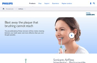 http://www.usa.philips.com/c/airfloss/287417/cat/en/