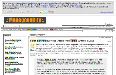 http://webcache.googleusercontent.com/search?q=cache:4HLnFqJ35BkJ:www.manageability.org/blog/stuff/open-source-java-business-intelligence+open+source+bi+tools&cd=5&hl=hu&ct=clnk&gl=hu