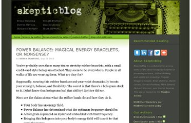 http://www.skepticblog.org/2010/09/23/power-balance-magical-energy-bracelets-or-nonsense/