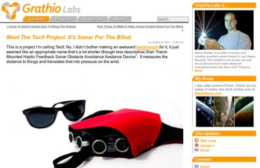http://grathio.com/2011/08/meet-the-tacit-project-its-sonar-for-the-blind/