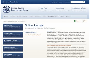 http://www.usip.org/publications/online-journals