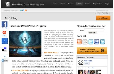 http://www.rhinoseo.com/blog/2010/12/29/9-essential-wordpress-plugins/