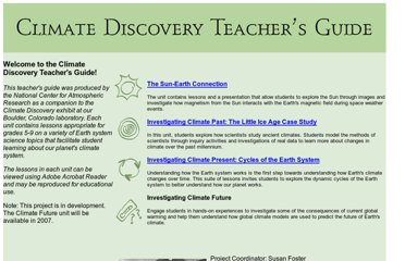 http://eo.ucar.edu/educators/ClimateDiscovery/