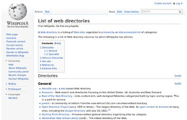 http://en.wikipedia.org/wiki/List_of_web_directories