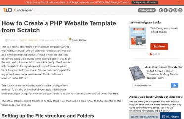 http://www.1stwebdesigner.com/css/how-to-create-php-website-template/