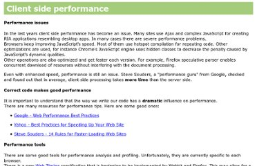 http://taligarsiel.com/ClientSidePerformance.html