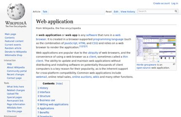 http://en.wikipedia.org/wiki/Web_application