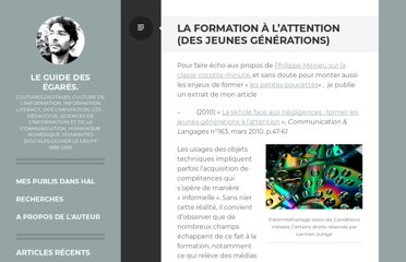 http://www.guidedesegares.info/2011/09/04/la-formation-a-lattention-des-jeunes-generations/