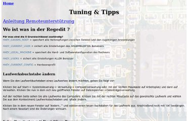http://www.pc-support.li/Tuning-Tipps.htm