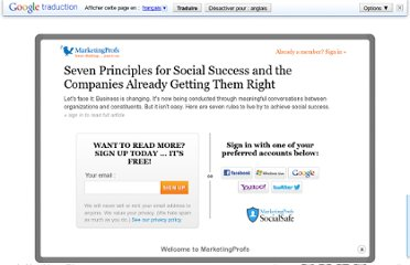 http://www.marketingprofs.com/articles/2011/4765/seven-principles-for-social-success-and-the-companies-already-getting-them-right