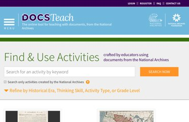 http://docsteach.org/activities