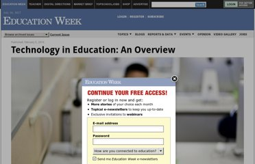 http://www.edweek.org/ew/issues/technology-in-education/