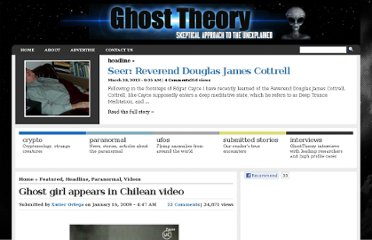 http://www.ghosttheory.com/2009/01/16/ghost-girl-appears-in-chilean-video