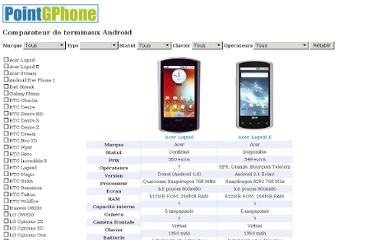 http://www.pointgphone.com/comparatif-android/