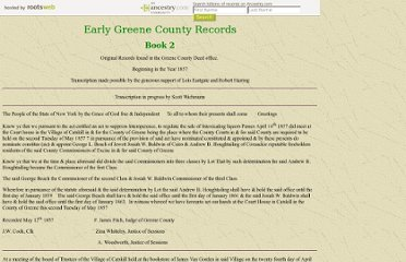 http://www.rootsweb.ancestry.com/~nygreen2/early_records_of_greene_county_book_2.htm