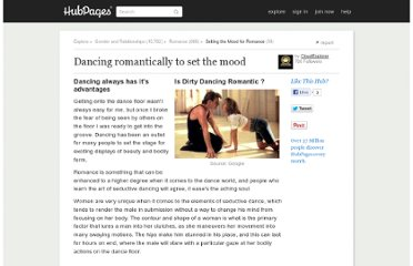http://cloudexplorer.hubpages.com/hub/Romancing-the-Stones-by-Dancing
