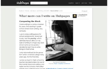 http://cloudexplorer.hubpages.com/hub/Cant-think-of-what-to-write-my-next-hub-about