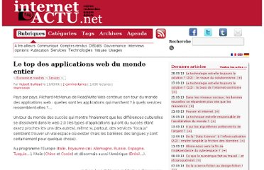 http://www.internetactu.net/2006/09/13/le-top-des-applications-web-du-monde-entier/