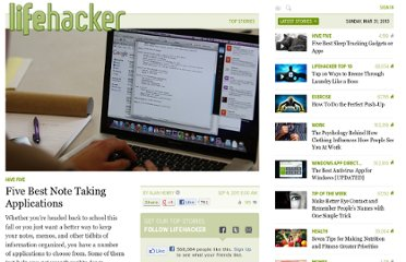 http://lifehacker.com/5837191/five-best-note-taking-applications