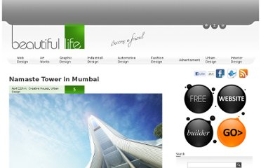 http://www.beautifullife.info/urban-design/namaste-tower-in-mumbai/
