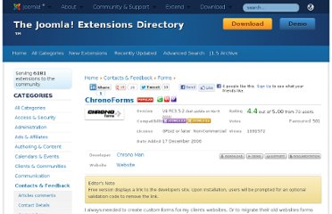 http://extensions.joomla.org/extensions/contacts-and-feedback/forms/1508