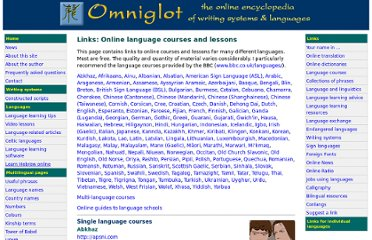 http://www.omniglot.com/links/courses.htm