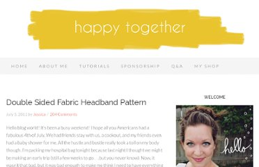 http://www.happytogethercreates.com/2011/07/double-sided-fabric-headband-pattern.html