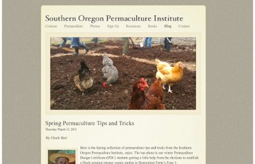 http://www.sopermaculture.org/SOPI/Blog/Entries/2011/3/31_Spring_Permaculture_Tips_and_Tricks.html
