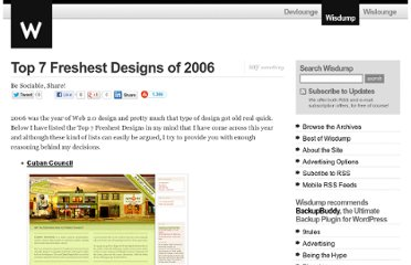 http://www.wisdump.com/design/top-7-freshest-designs-of-2006/