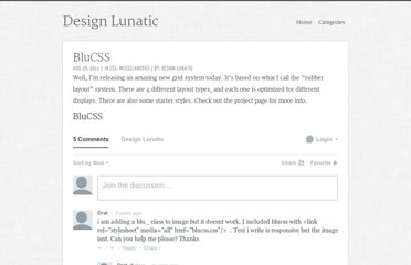 http://designlunatic.com/projects/blucss/