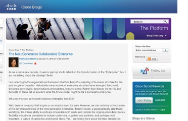 http://blogs.cisco.com/news/the_next_generation_collaborative_enterprise/