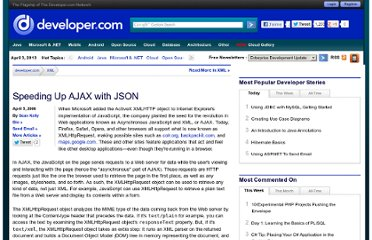 http://www.developer.com/lang/jscript/article.php/3596836/Speeding-Up-AJAX-with-JSON.htm