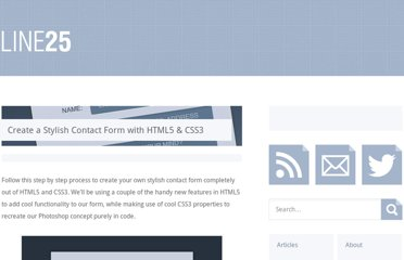 http://line25.com/tutorials/create-a-stylish-contact-form-with-html5-css3