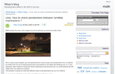http://blogs.msdn.com/b/mitsu/archive/2009/05/18/linq-how-to-share-parameters-between-lambda-expressions.aspx