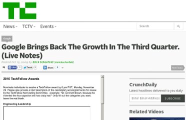 http://techcrunch.com/2009/10/15/google-brings-back-the-growth-in-the-third-quarter/