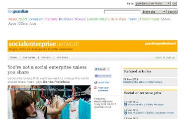 http://www.guardian.co.uk/social-enterprise-network/2011/jul/01/social-enterprise-blog