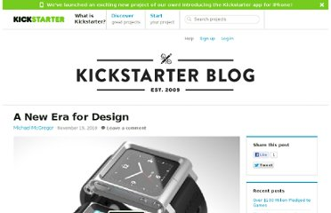 http://www.kickstarter.com/blog/a-new-era-for-design