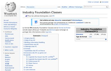 http://fr.wikipedia.org/wiki/Industry_Foundation_Classes