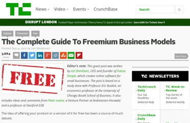 http://techcrunch.com/2011/09/04/complete-guide-freemium/