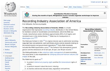 http://en.wikipedia.org/wiki/Recording_Industry_Association_of_America