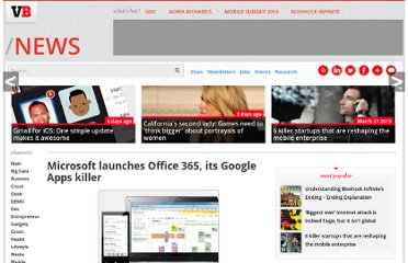http://venturebeat.com/2011/06/28/microsoft-launches-office-365-its-google-apps-killer/