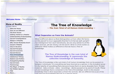 http://www.churchofreality.org/wisdom/tree_of_knowledge/