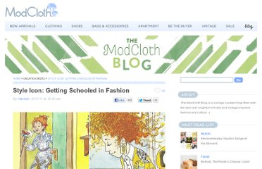 http://blog.modcloth.com/2011/08/11/style-icon-getting-schooled-in-fashion/