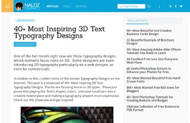 http://naldzgraphics.net/inspirations/40-most-inspiring-3d-text-typography-designs/